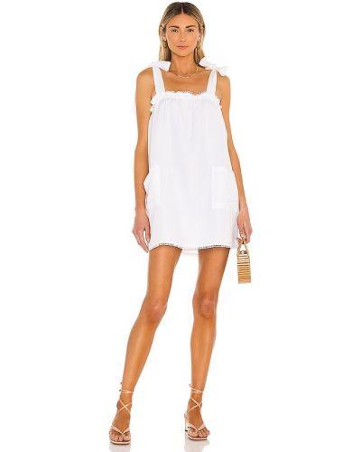 Biała sukienka bawełniana Show Me Your Mumu