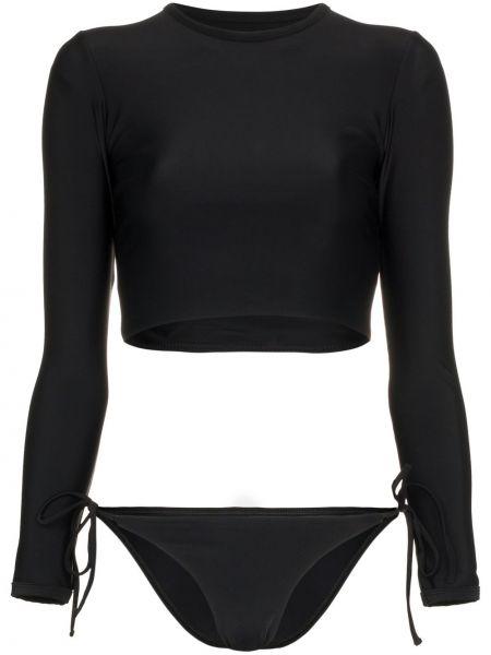 Черные нейлоновые бикини Matteau