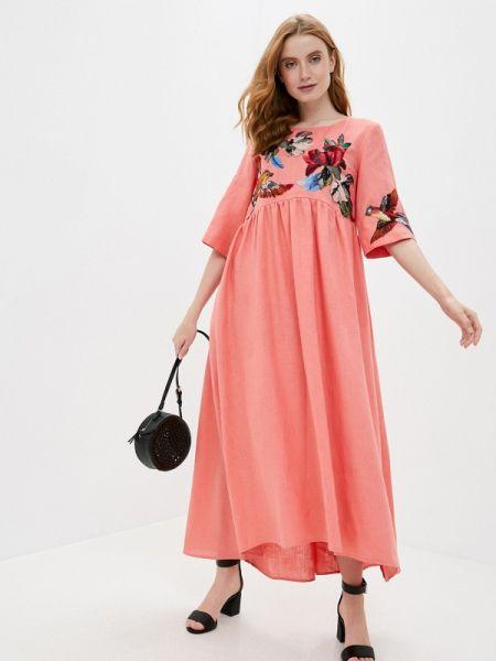 Повседневное платье весеннее Yukostyle