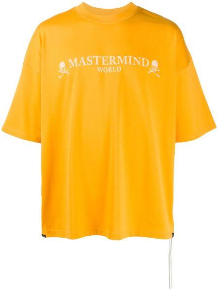 Koszula krótkie z krótkim rękawem z logo prosto Mastermind World