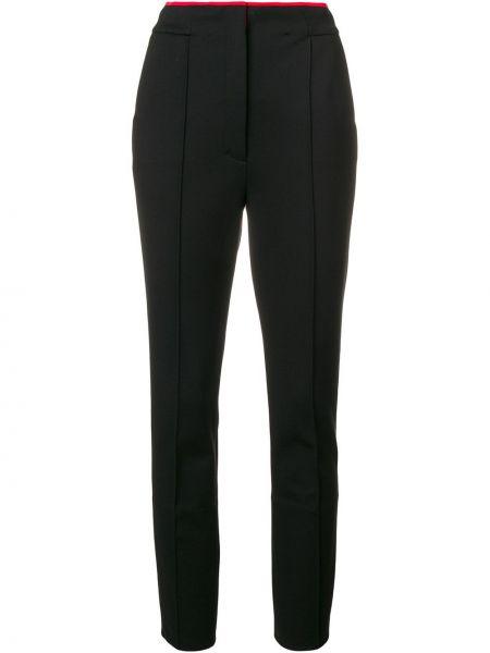 Брючные черные брюки из вискозы Dorothee Schumacher