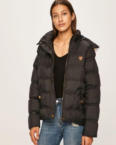 Куртка с капюшоном стеганая укороченная Brave Soul