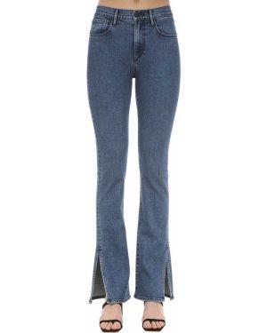 Расклешенные джинсы на пуговицах 3x1