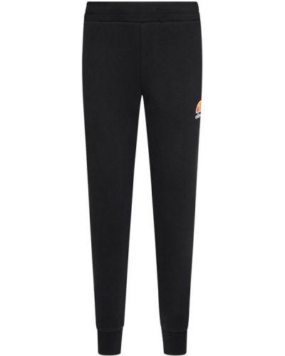Czarny spodni spodnie do spodni Ellesse