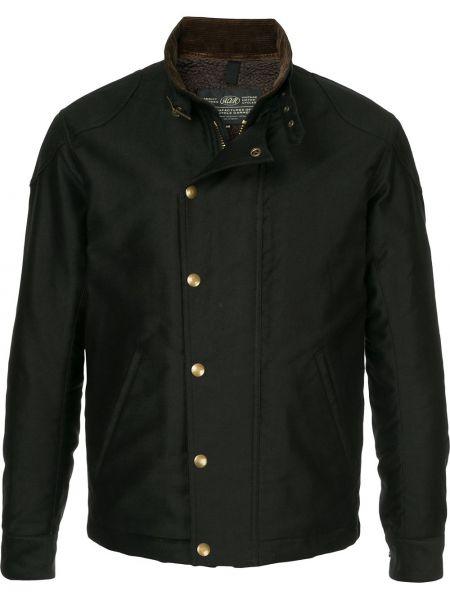 Хлопковая черная куртка милитари Addict Clothes Japan