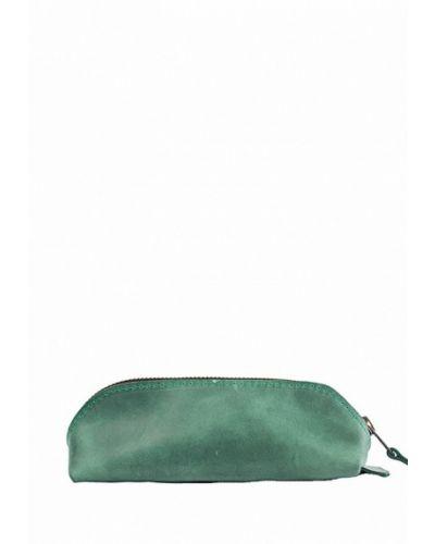 Зеленый футляр для очков Incarne