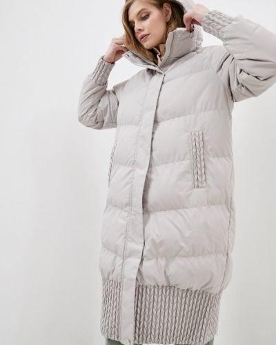 Бежевая утепленная куртка Luhta