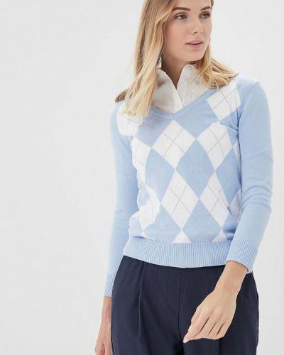Голубой пуловер 2018 Baon