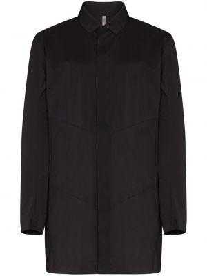 Нейлоновое черное пальто Veilance