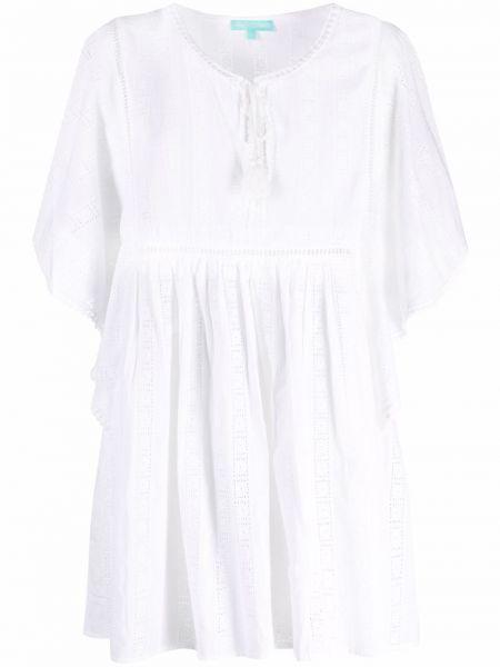 Платье мини короткое - белое Melissa Odabash