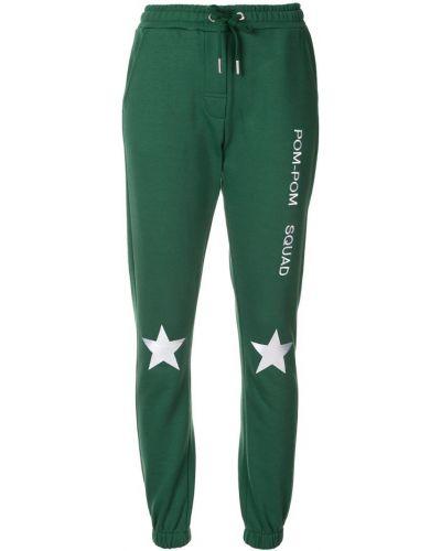 Спортивные брюки зеленый эластичные Zoe Karssen