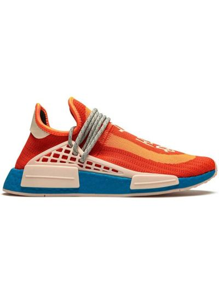 Niebieskie sneakersy do biegania sznurowane koronkowe Adidas By Pharrell Williams