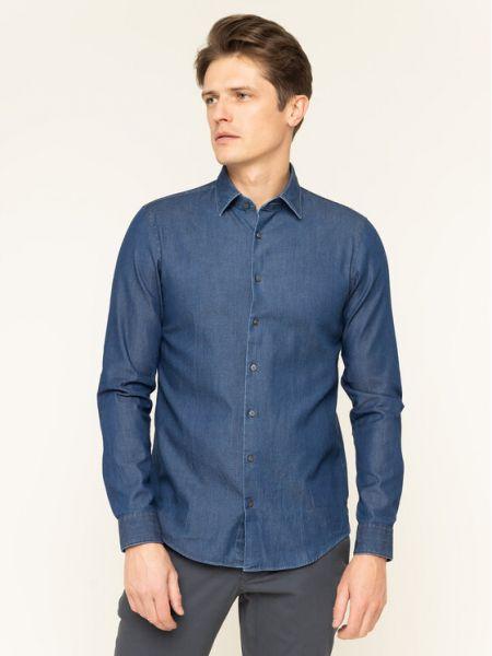 Niebieska koszula jeansowa Calvin Klein