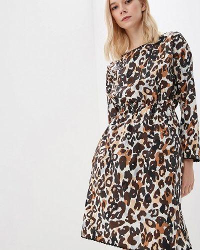 Платье - коричневое Sonia Rykiel