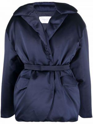 Синяя пуховая куртка Giambattista Valli