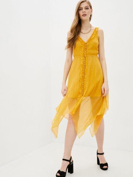 Платье - желтое The Kooples