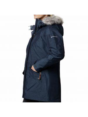Черная куртка Columbia