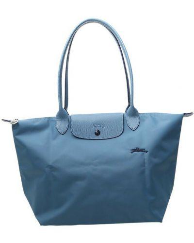 Niebieska torba na ramię Longchamp