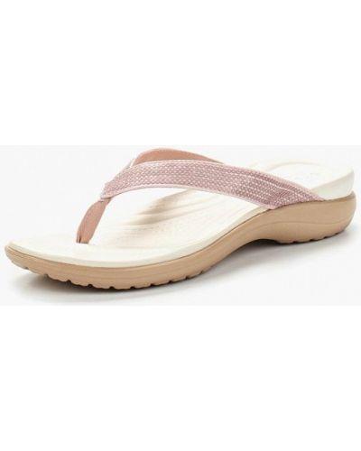 Сланцы розовый Crocs