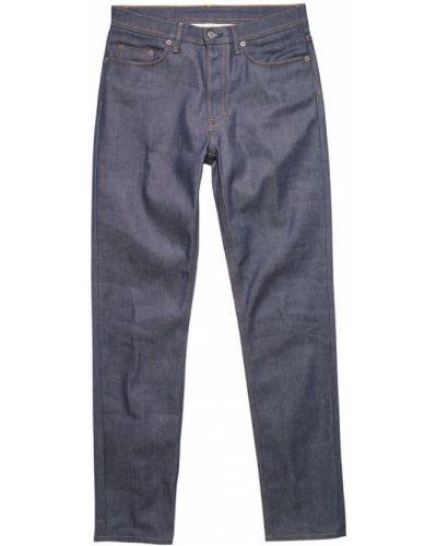 Niebieskie jeansy Acne Studios