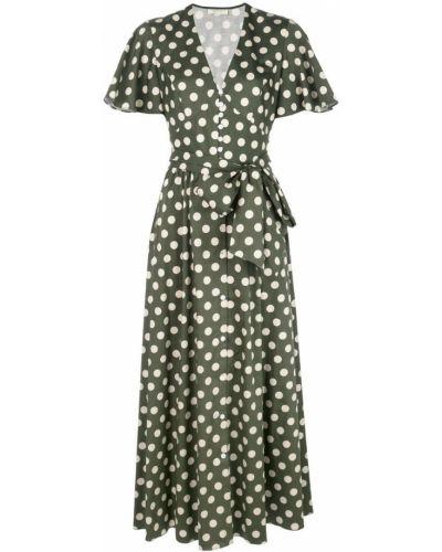 Платье мини короткое - зеленое Petersyn