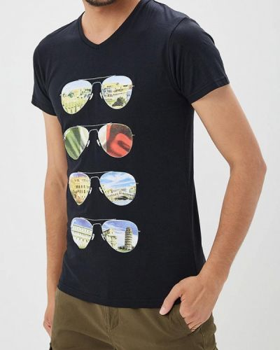 Черная футболка Paragoose