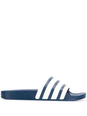 Шлепанцы в полоску круглый Adidas