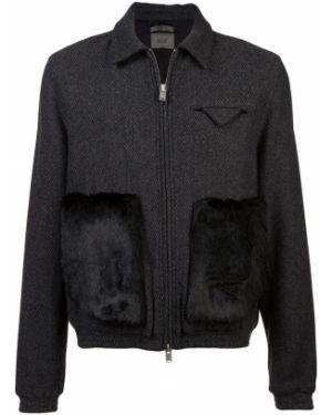 Черная куртка с манжетами Siki Im