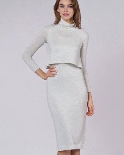 Серебряное платье Evercode