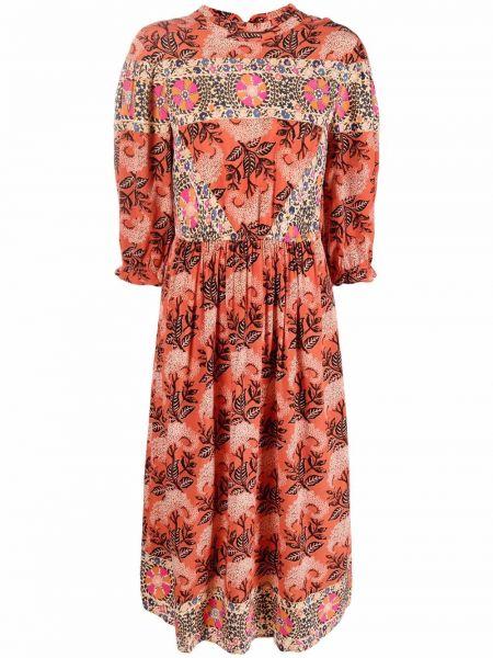 Оранжевое платье короткое Ba&sh