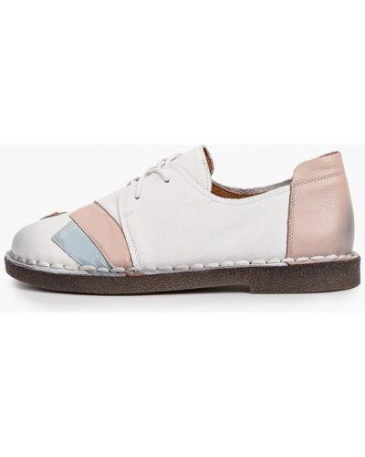 Кожаные белые ботинки Ridlstep