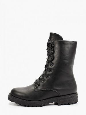 Черные резиновые ботинки Keddo