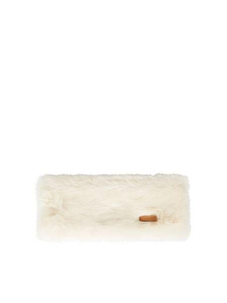 Biały futro Barts