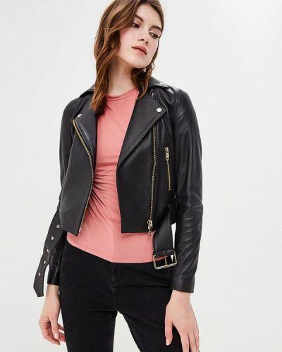 Черная куртка демисезонная Tommy Hilfiger