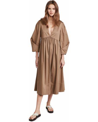 Платье с декольте Tibi