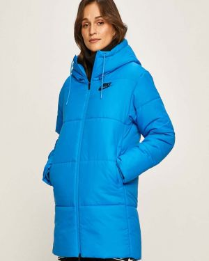 Прямая стеганая куртка мятная Nike Sportswear