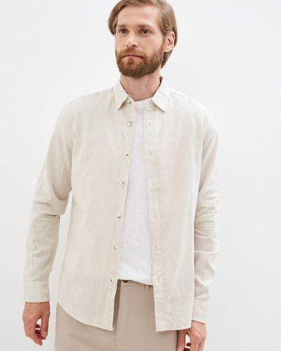 Бежевая рубашка с длинным рукавом с длинными рукавами Colin's