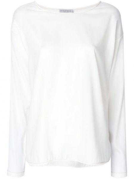 Шелковая футболка - бежевая Le Tricot Perugia