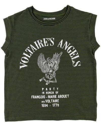Koszula krótki rękaw elegancka Zadig & Voltaire
