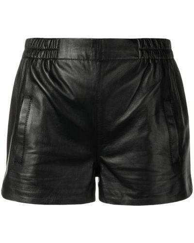 Облегающие черные шорты с карманами Laneus