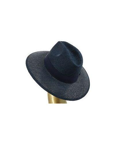 Синяя шляпа летняя Federica Moretti