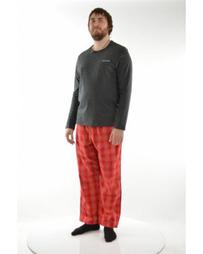 Пижама серая хлопковая Calvin Klein