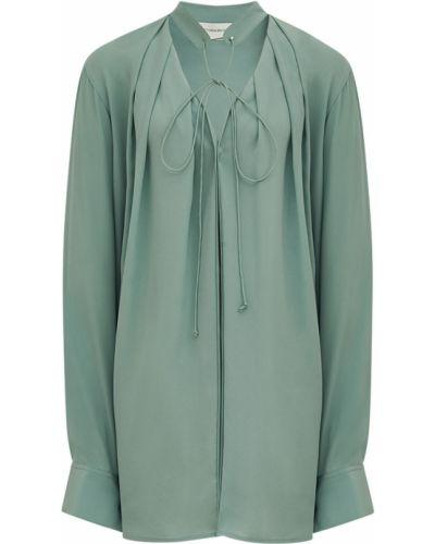 Шелковая рубашка Victoria Beckham