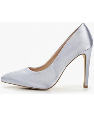 Туфли на каблуке лодочки серебряный Ws Shoes