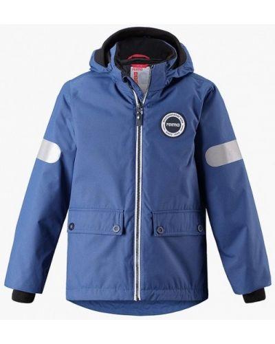 Голубая куртка теплая Reima