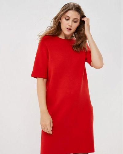 Повседневное платье осеннее красный Betty Barclay
