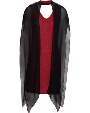 Платье мини с бисером чокер Bonprix