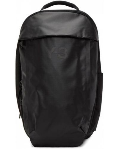Z paskiem klasyczny czarny włókienniczy plecak Y-3