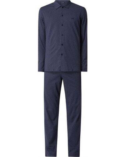 Niebieska spodni piżama bawełniana Hom