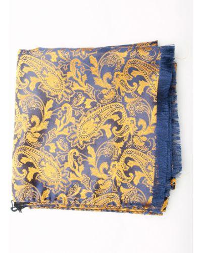 Желтый шарф итальянский Gallieni